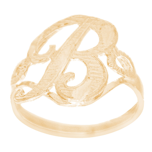 10kt Personalized Initial Ring - RNG363-6