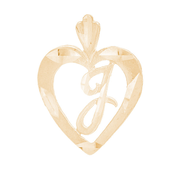 10kt Personalized Initial Pendant - PND362-5