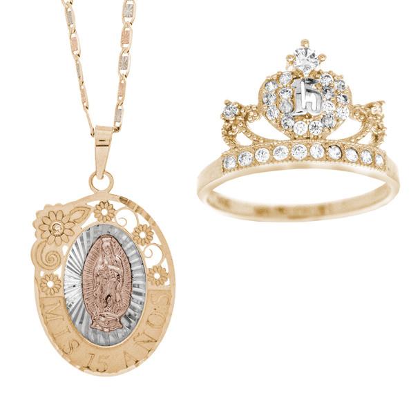 Quinceanera XV Jewelry Set - XVS-101