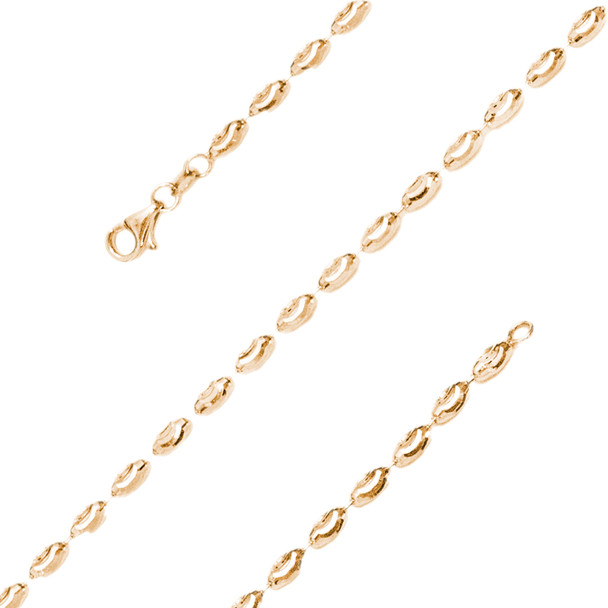 Yellow Gold Bracelet  - BLG751