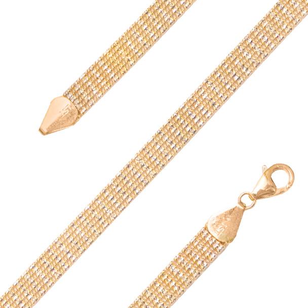 Yellow Gold Bracelet  - BLG754