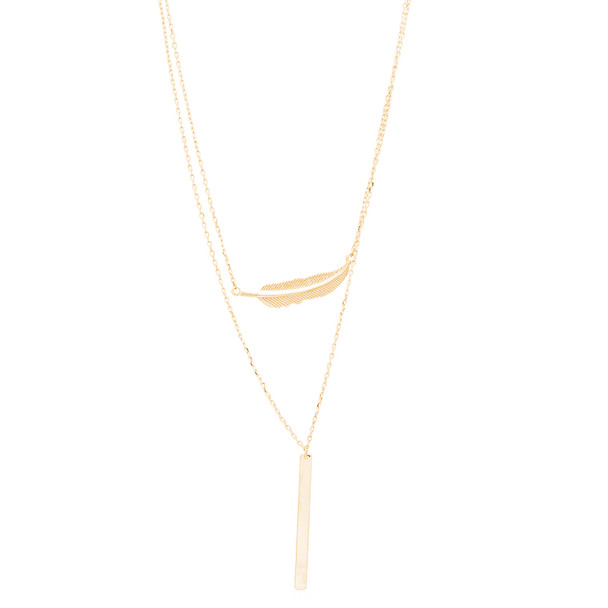 Yellow Gold Pendants and Chains Set - 14 K - JST394