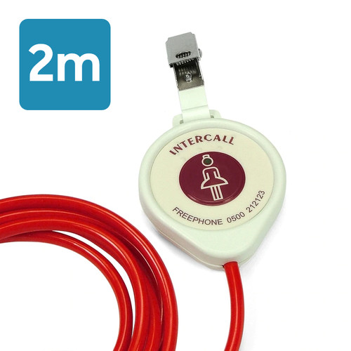 Intercall 2m Pear Push Lead