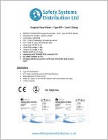 Type IIR Face Mask Datasheet