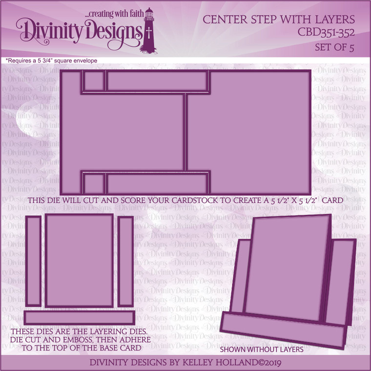 CENTER STEP WITH LAYERS