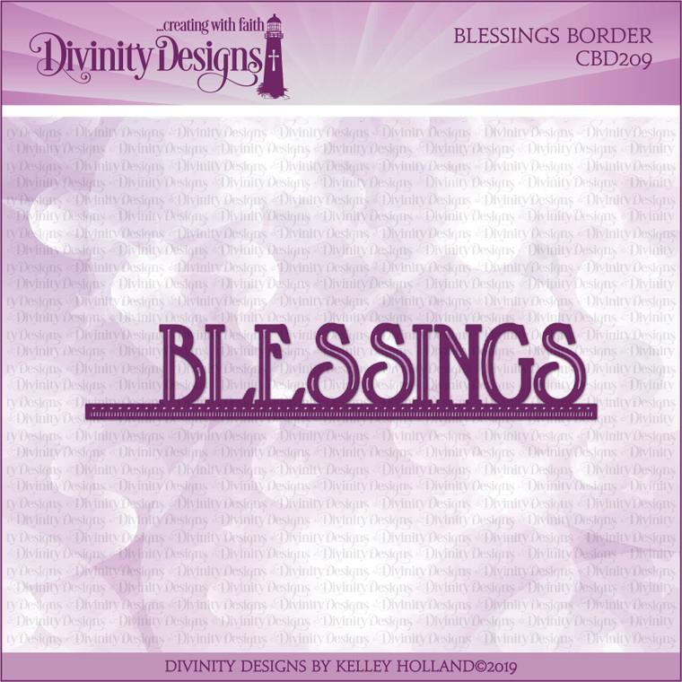 BLESSINGS BORDER DIE