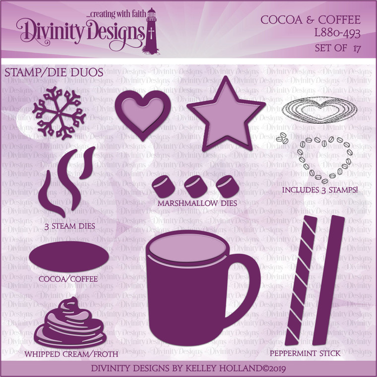 COCOA & COFFEE (STAMP/DIE DUOS)
