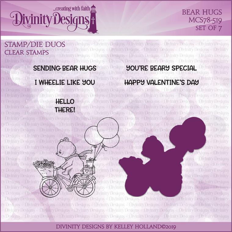 BEAR HUGS (STAMP/DIE DUOS-CLEAR STAMPS)