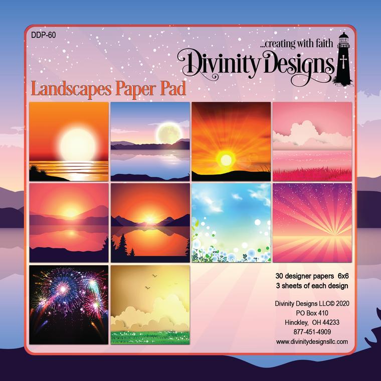 LANDSCAPES PAPER PAD 6x6