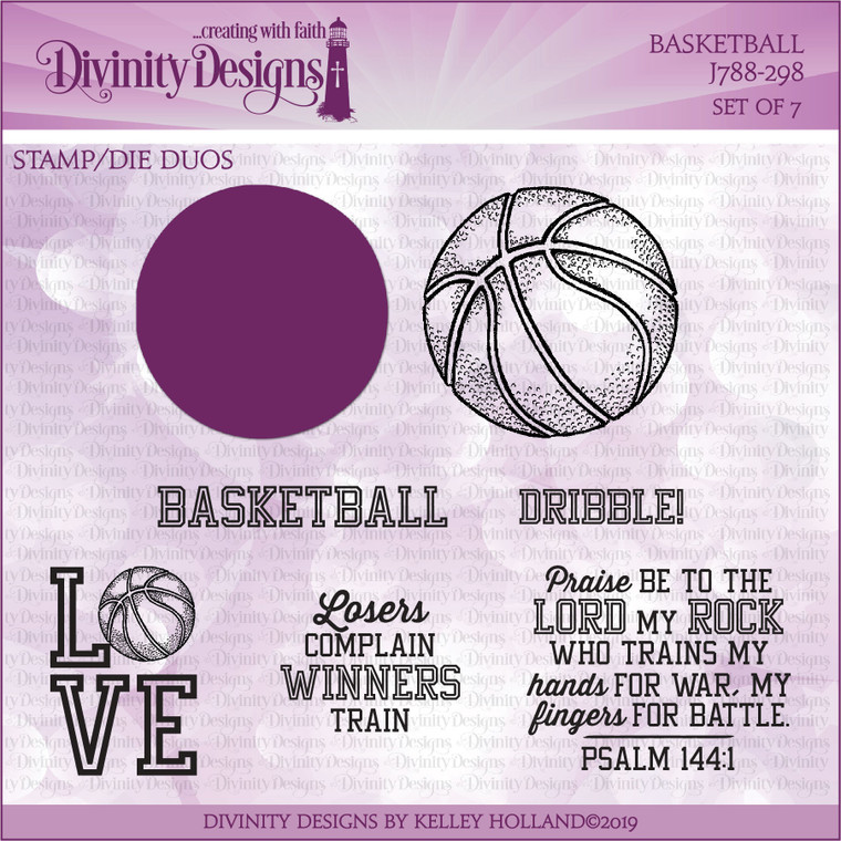 BASKETBALL (STAMP/DIE DUOS)