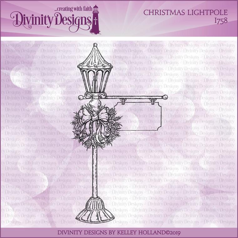 CHRISTMAS LIGHTPOLE SINGLE