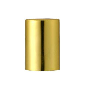 10mm Aluminium Gold Cap