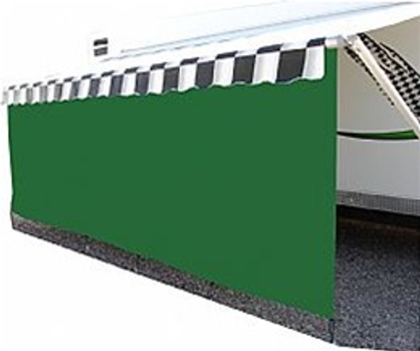14' Protex 85% Awning Drape with 8' Drop