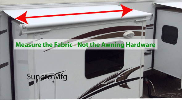 How To Measure a Slide Out Awning.