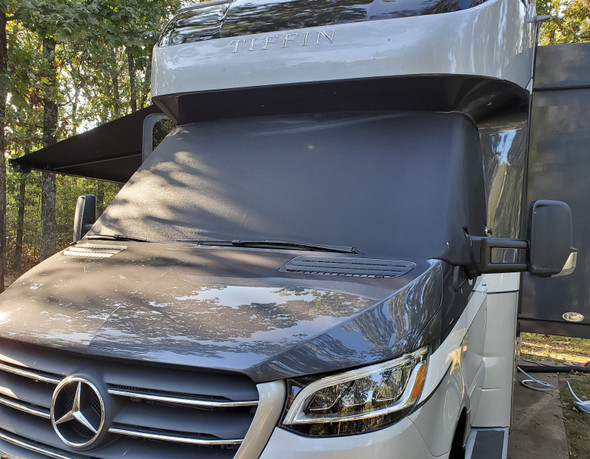 Mercedes Sprinter Van with Sunpro Windshield Cover