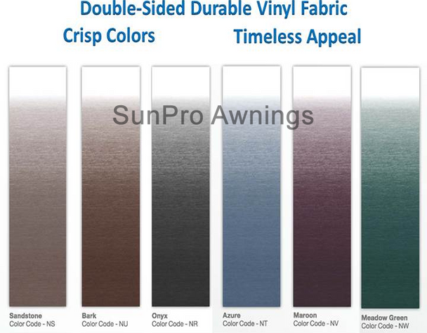 Dometic Universal Fabric Choices