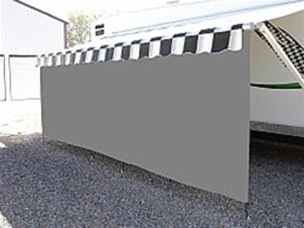 Suntex 90% Awning Shades with 8' Drop Zipper Available