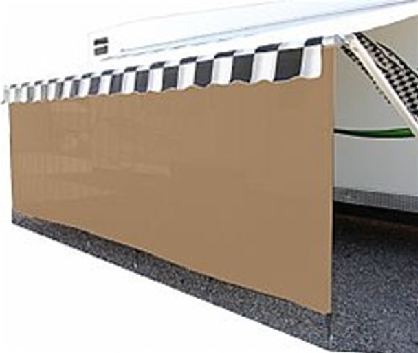 Suntex 90% Awning Shades with 9' Drop Zipper Available