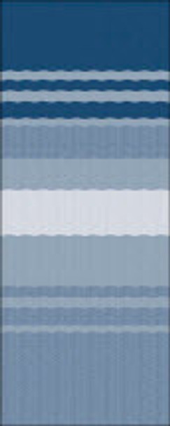 Ocean Blue Dune Stripe