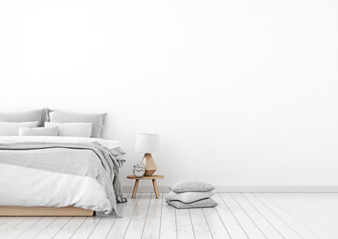 Bedroom paint colors for a tranquil interior