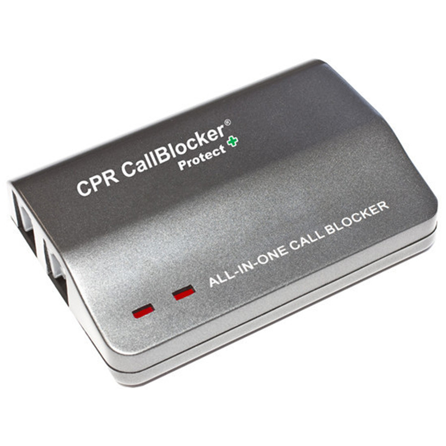 CPR Protect Landline Call Blocker - Block All Incoming Calls - Remote Program Trusted Phone Numbers - Designed To Safeguard Vulnerable Adults - Protect vunerable people and those living with Dementia or Alzheimer's.