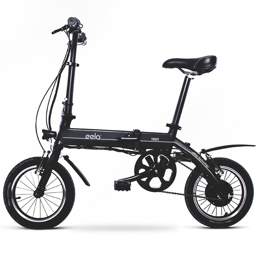 aeb52961e0 eelo 1885 Folding Electric Bike - Portable and Easy to Store in Caravan