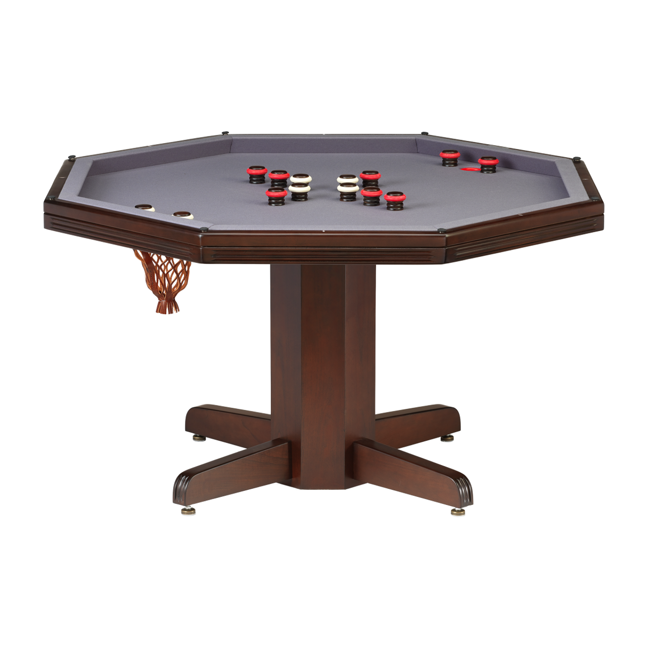 Darafeev Reno Poker Dining Game Table with Bumper Pool