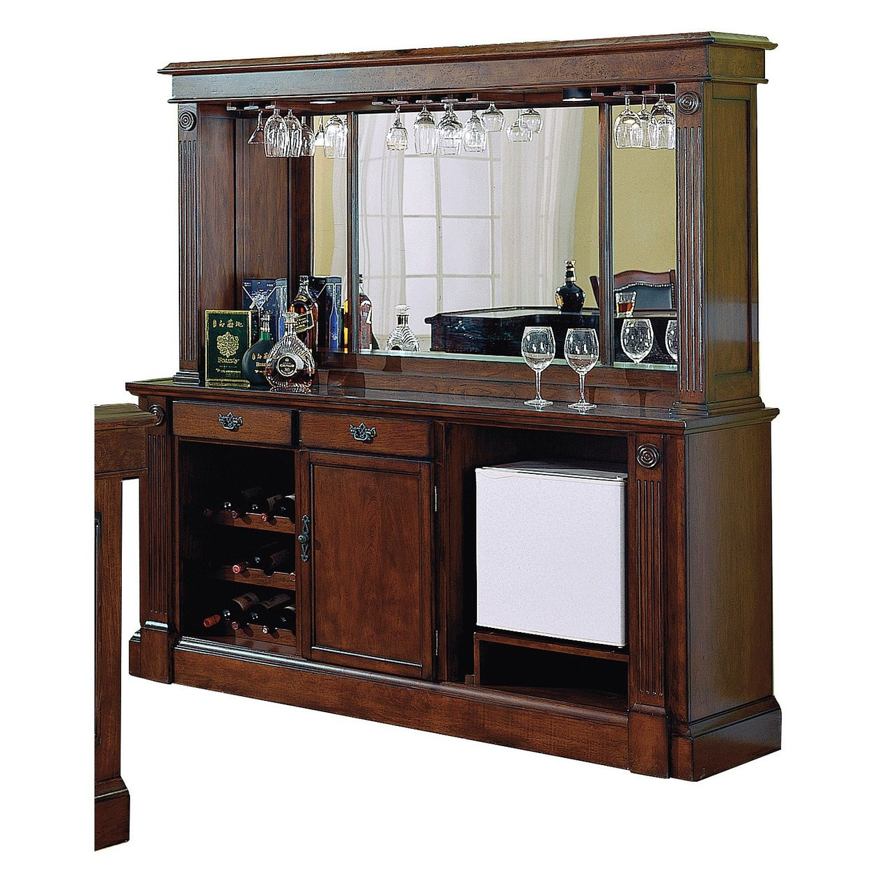 Picture of: Eci Monticello 78 Back Bar And Hutch Free Local Delivery And Setup Gebhardts Com