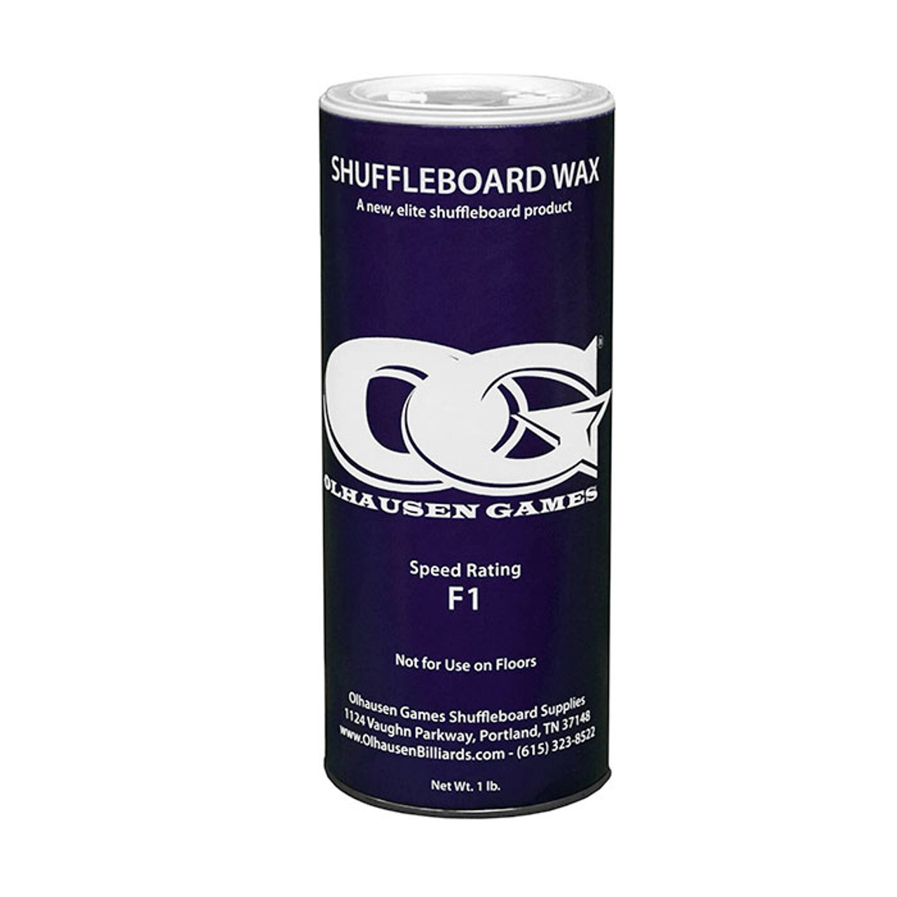 Olhausen F1 Shuffleboard Powder Wax - 16 oz  Can