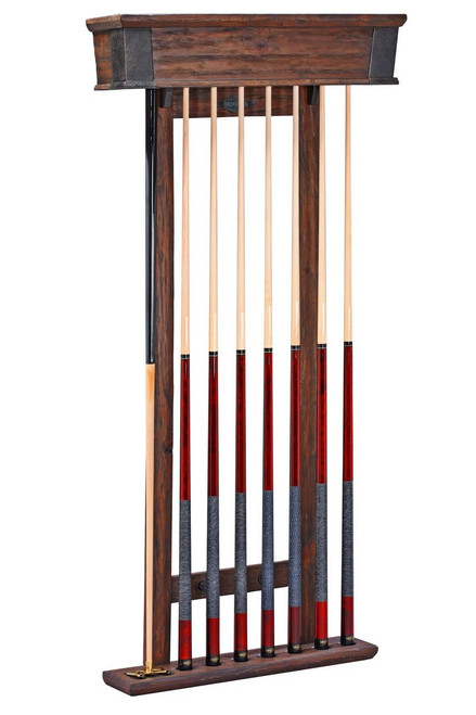Brunswick Canton Wall Cue Rack Black Forest