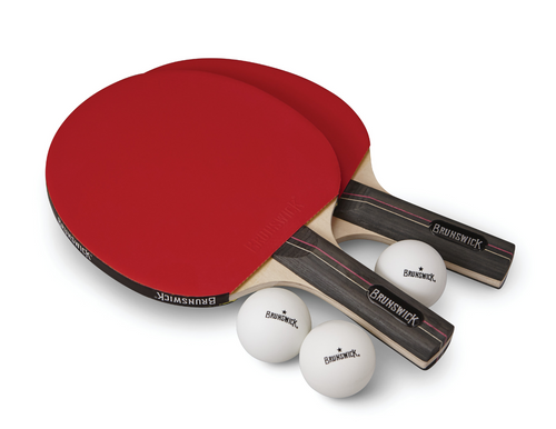Brunswick Smash Table Tennis 2-Player Racket Set