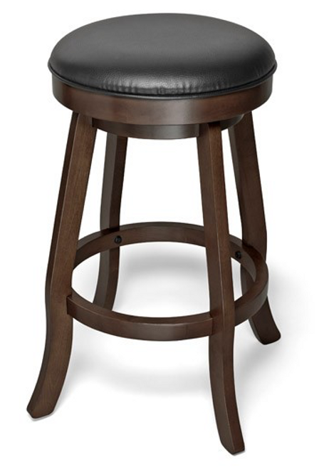 Brunswick Traditional Backless Pub Stool Espresso