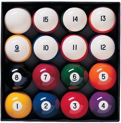 Brunswick Heritage Pocket Balls