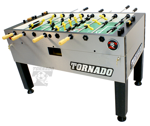 Tornado T-3000 Foosball Table Platinum