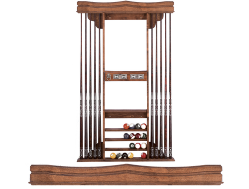 Olhausen Deluxe Cue Rack 728 New Orleans