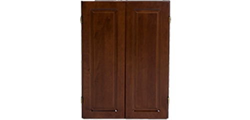 Olhausen Dartboard Cabinet w/Raised Panel Doors