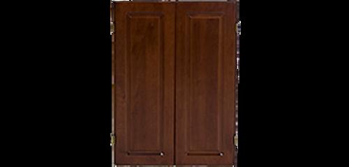 Olhausen Dartboard Cabinet w/Raised Panel Doors