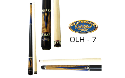 Olhausen Olh-7 Deluxe Inlaid Design Cues with Cue Case