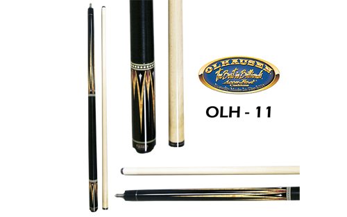 Olhausen Olh-11 Deluxe Inlaid Design Cues with Cue Case