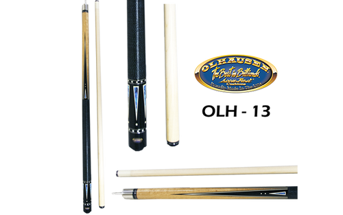 Olhausen Olh-13 Deluxe Inlaid Design Cues with Cue Case