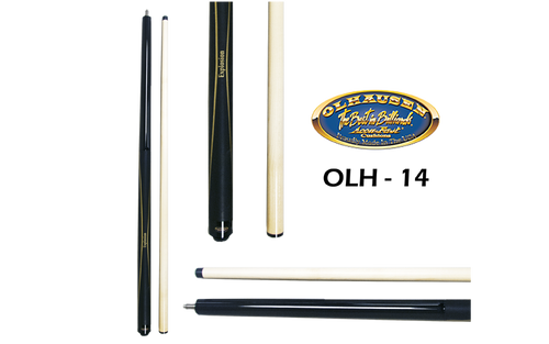 Olhausen Olh-14 Deluxe Inlaid Design Cues with Cue Case