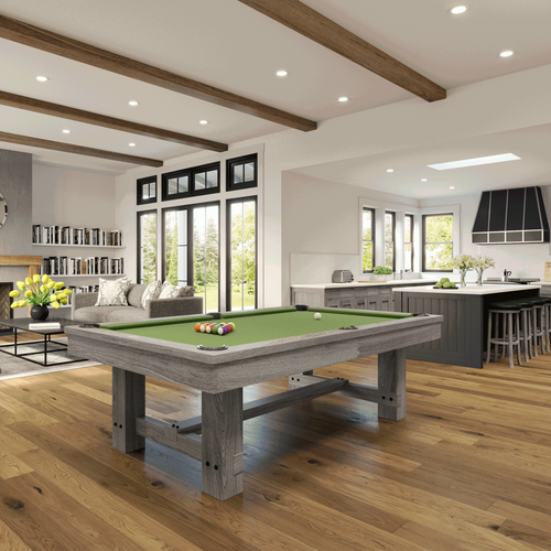 Imperial Reno Pool Table Silver Mist