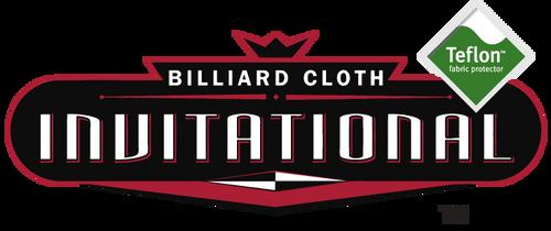 Championship Invitational Pool Table Cloth With Teflon logo