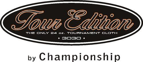 Championship Tour Edition Pool Table Cloth logo