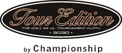 Championship Tour Edition Pool Table Cloth logo