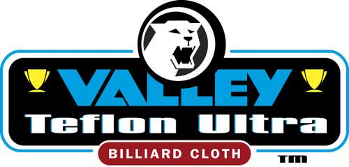 Championship Valley Teflon Ultra Pool Table Cloth Logo