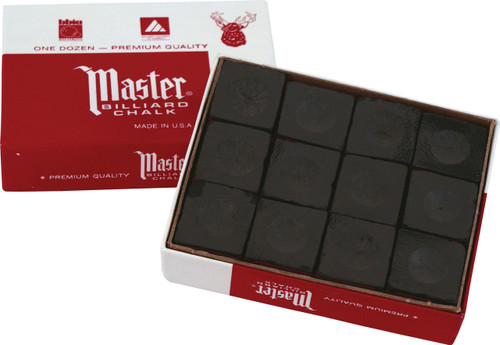 Master Chalk - Box of 12 - Black