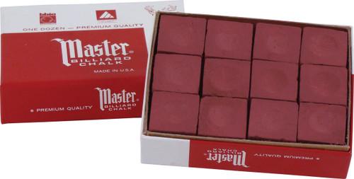 Master Chalk - Box of 12 - Burgundy