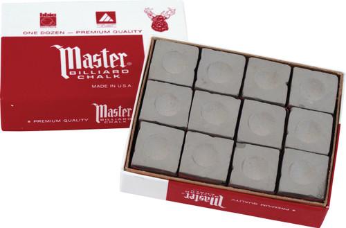 Master Chalk - Box of 12 - Gray
