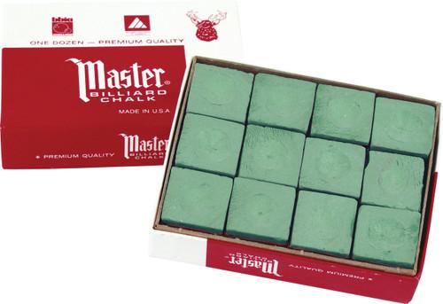 Master Chalk - Box of 12 - Green